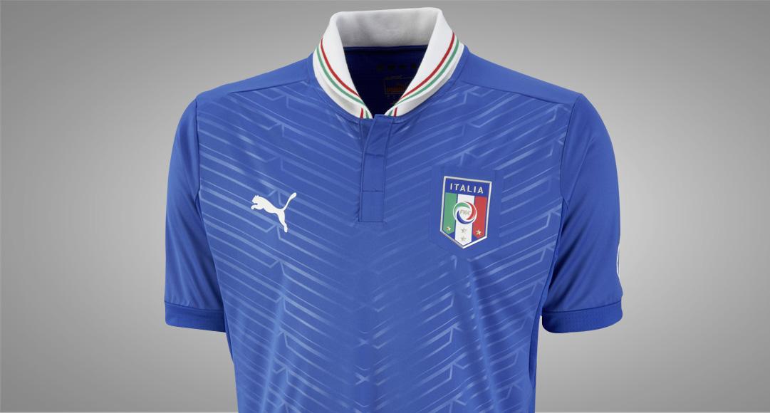 camiseta de la selección de italia